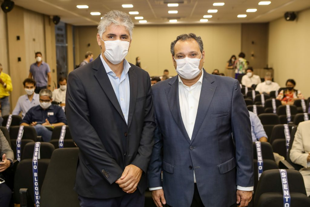 Sinduscon Ceará recebe Alfredo Santos durante o encontro 'Grandes Nomes da Construção'