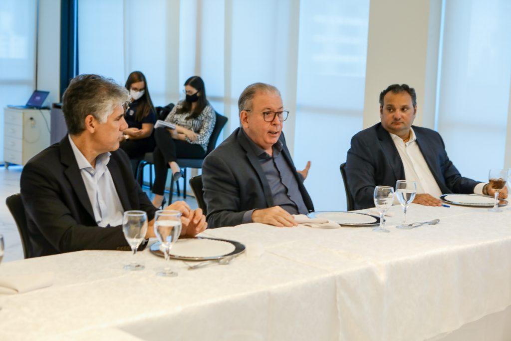 Alfredo Santos, Ricardo Cavalcante E Patriolino Dias