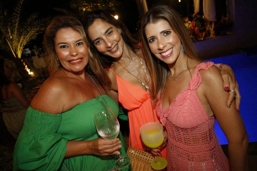 Ana Maria Figueiredo, Lara Romcy E Marcela Oliveira