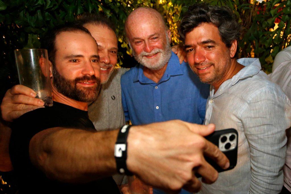 Andre E Ze Carlos Pontes, Lauro Fiuza E Marcelo Franco 1