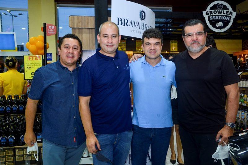 Anísio Venâncio, André Linheiro, Marcelo Braga E Odmar Feitosa