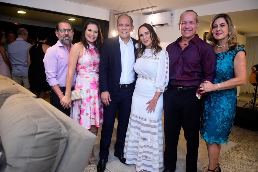 Antônio Augusto E Nariadina Maia, Henrique Algusto E Rivia Lima, Beto Cavalcante E Ana Claudia Rego