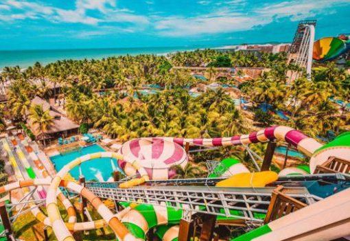 Beach Park contemplado com certificado de empresa que mais inclui no Ceará