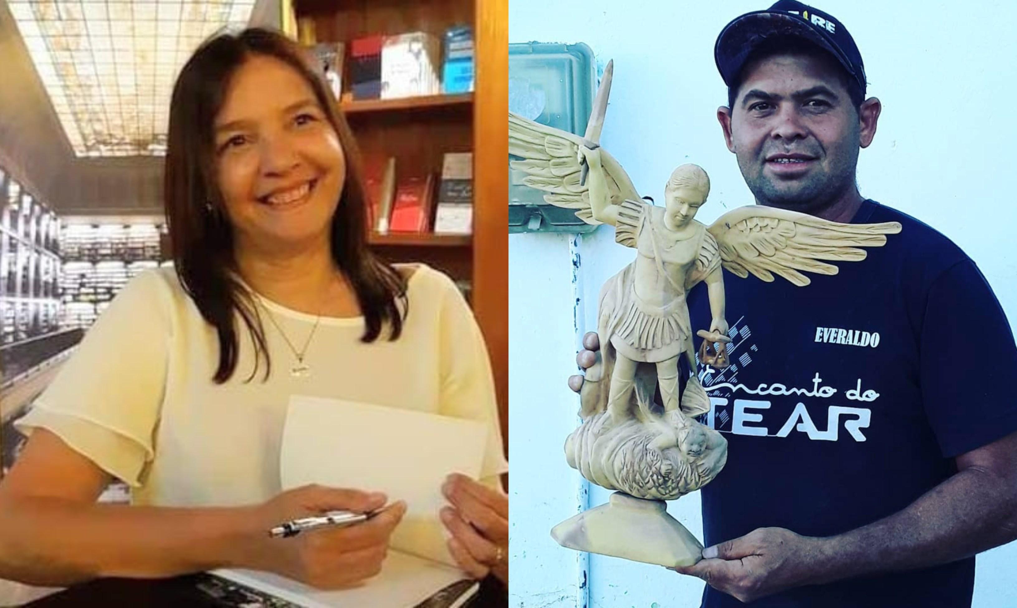 Novo livro do projeto Sobregentes contará a historia de dois artistas cearenses