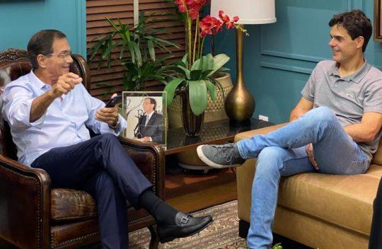 Beto Studart recebe o CEO da XP, Guilherme Benchimol, no BS Design