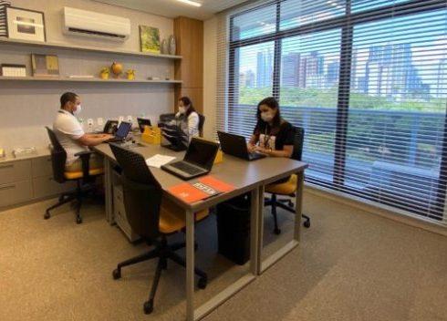 BSPAR concentra toda a sua equipe comercial nos escritórios do BS Design