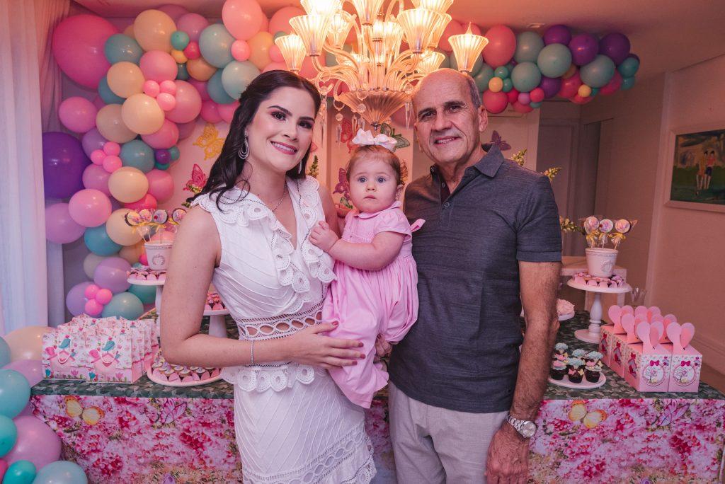 Camile Quintão Carneiro, Celine Quintão Carneiro E José Quintão