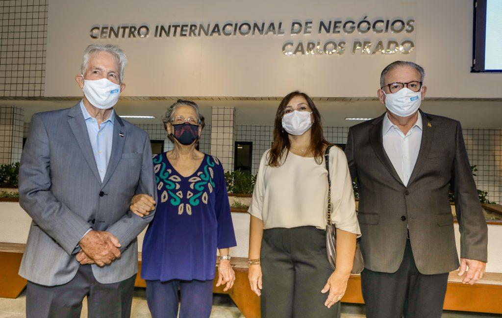 Ricardo Cavalcante inaugura novo espaço do Centro Internacional de Negócios na FIEC