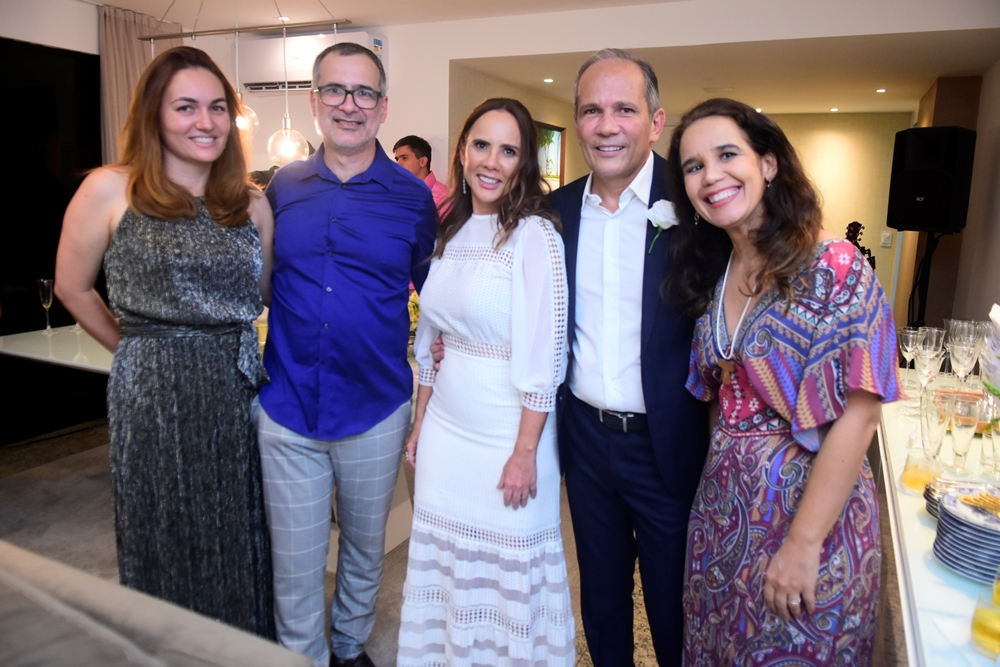 Claudia E Ruver Herculano, Rivia Lima, Henrique Augusto E Daniele Herculano