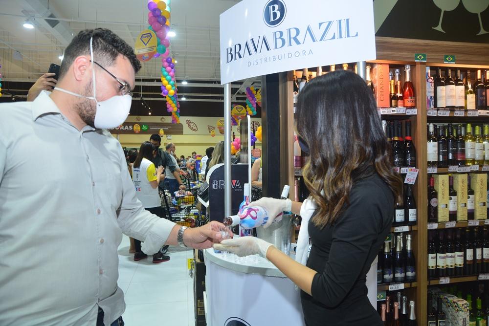 Degustação Brava Brazil Na Inauguração Do Super Lagoa (16)