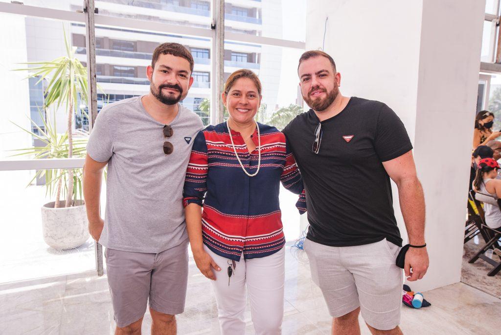 Diego Costa, Silvana Fialho E Nicolas Martins