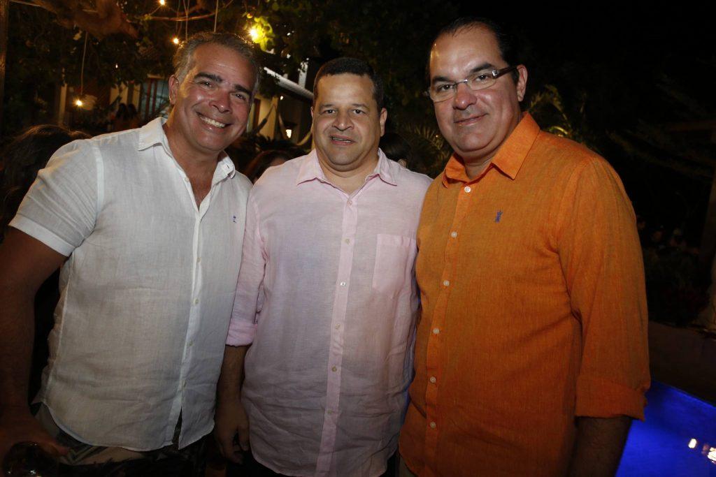 Enio Santos, Augusto Borges E Leo Albuquerque