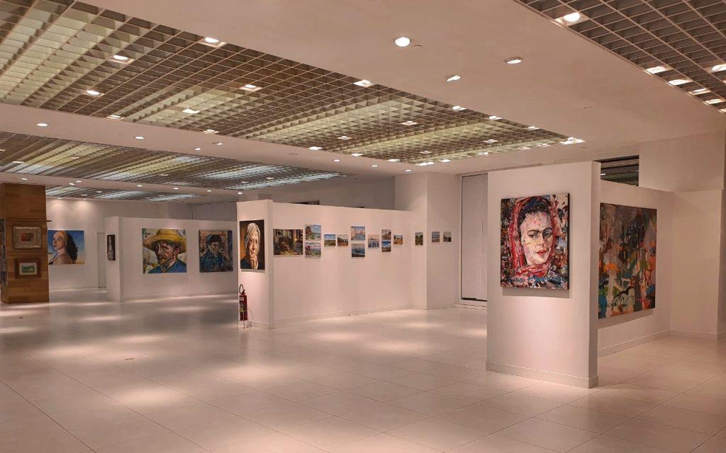 Com destaque para a arte cearense, Espaço Mostra Iguatemi já está aberto ao público