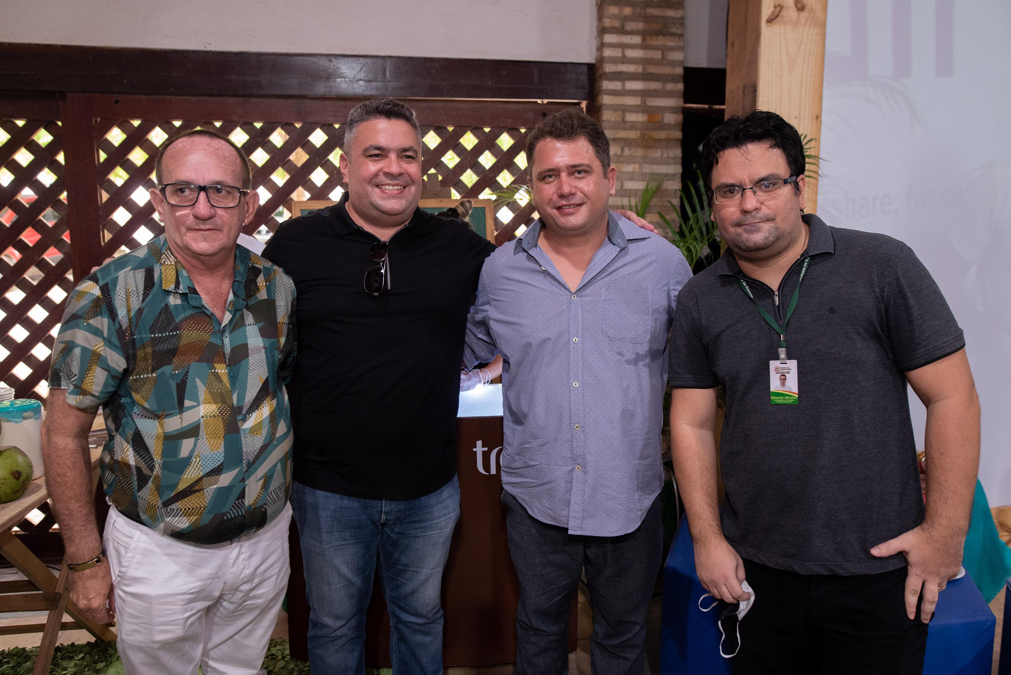 Eugenio Oliveira, Felipe Pontes, Reinaldo Chalemberge E Eduardo Santos