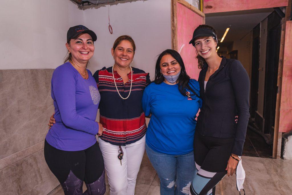 Fatima Santana, Silvana Fialho, Amanda Cabo E Consuelo Nobrega Feitosa