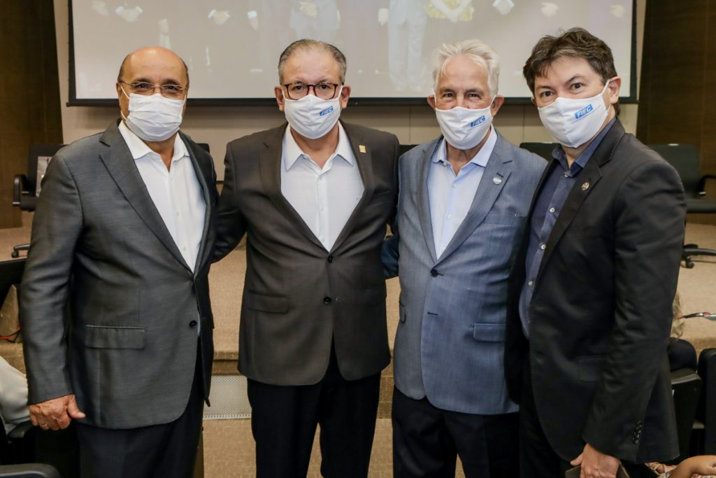 Fernando Gurgel, Ricardo Cavalcante, Carlos Prado E Edigar Gadelha