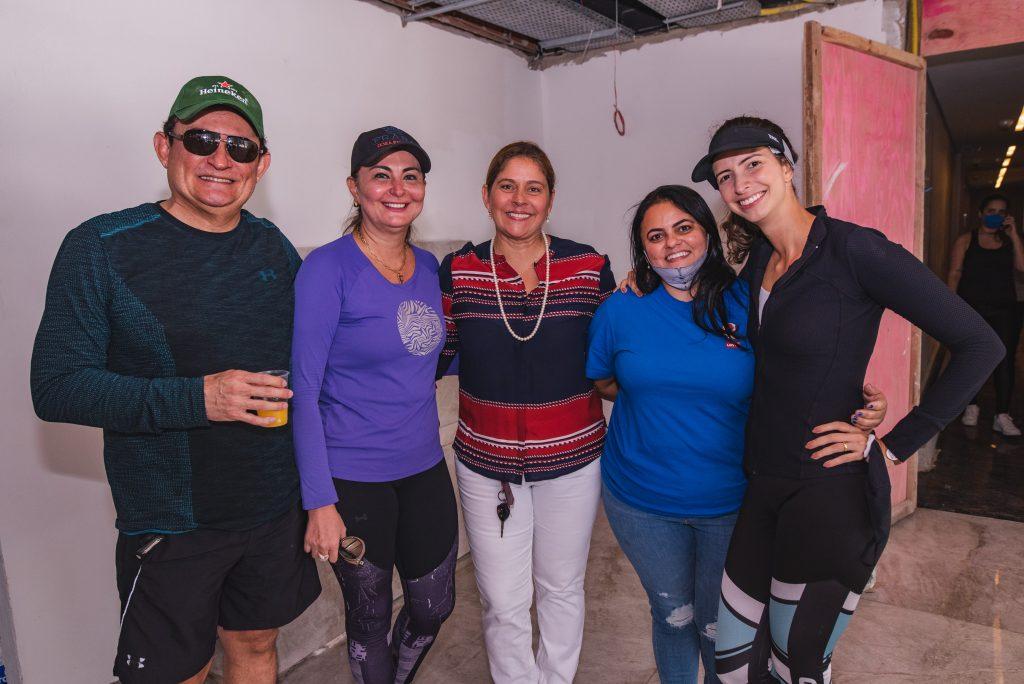Fernando Santana, Fatima Santana, Silvana Fialho, Amanda Cabo E Consuelo Nobrega Feitosa