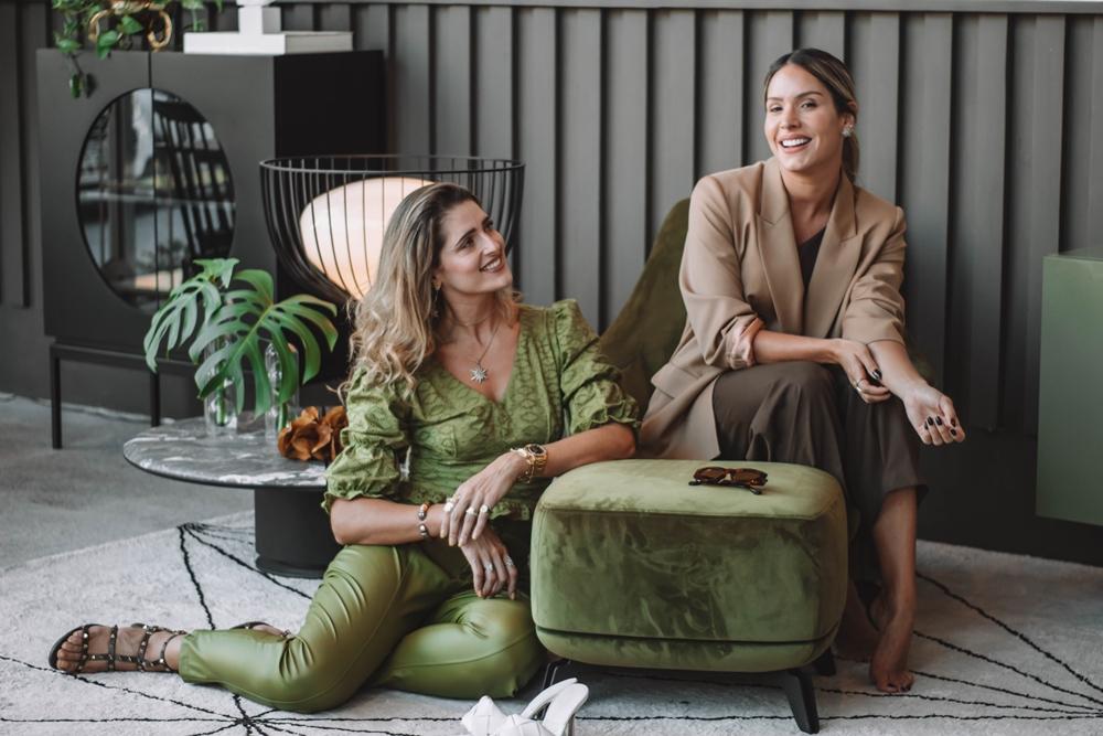 Thyane Dantas e Rebeca Leal brilham em campanha para a Galpão D