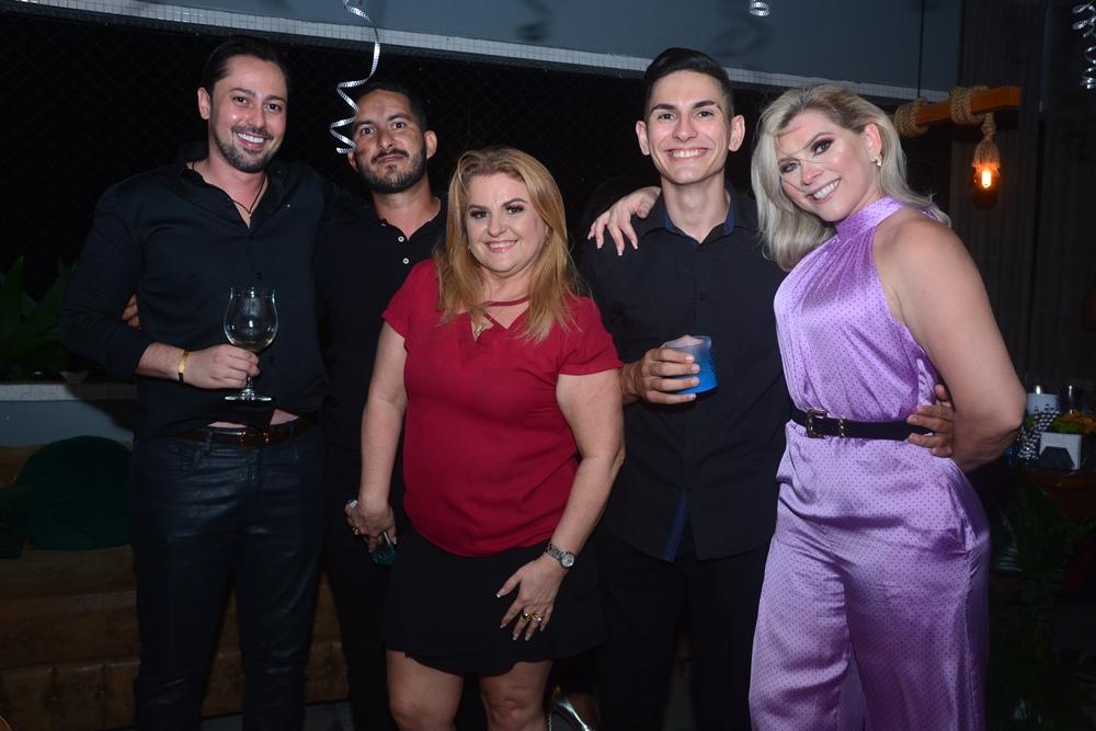 Gustavo Barreto, Riosney Ferreira, Conceição Almeida, Dj Brandão E Genice Brandão