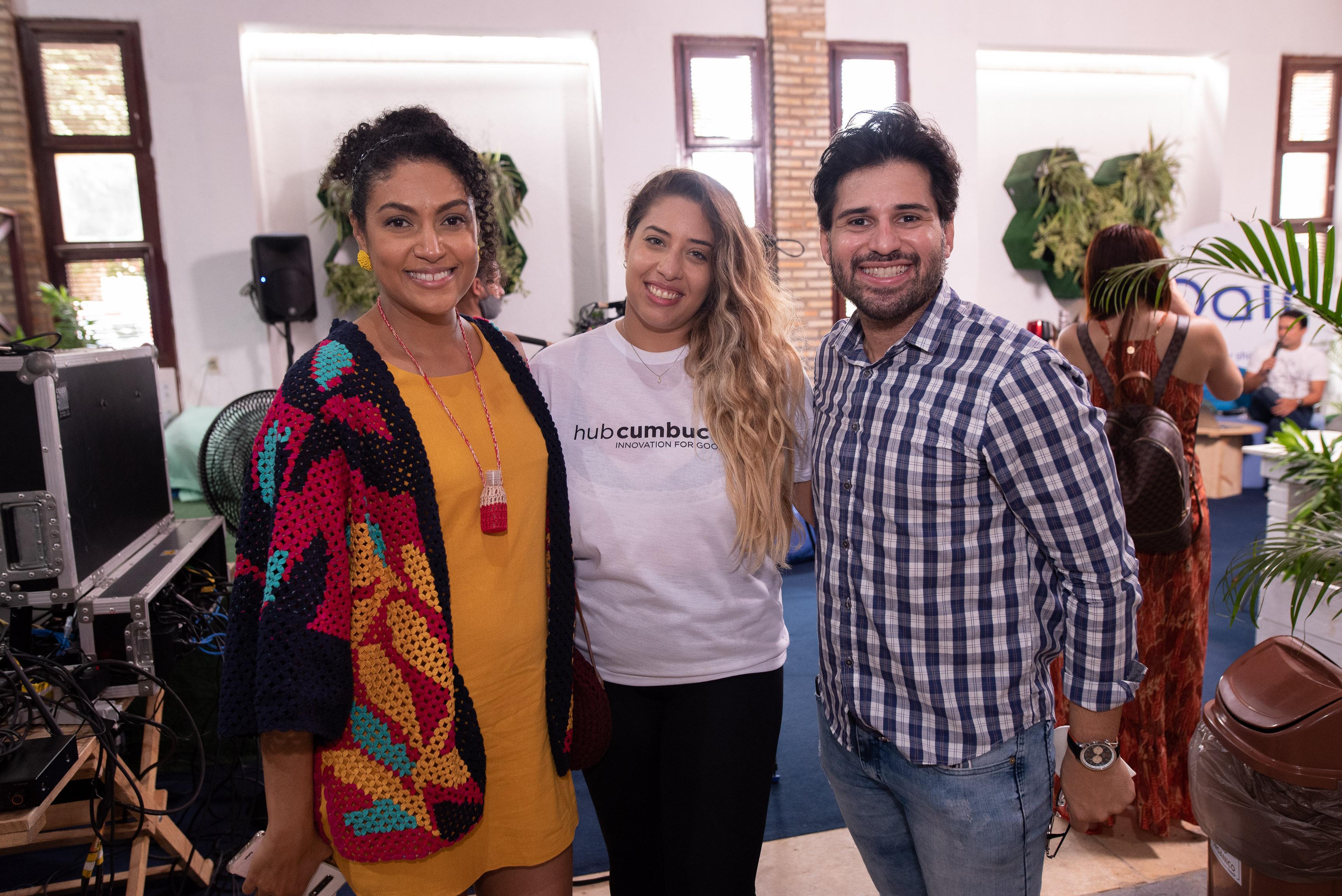 Hanna Louretto, Mariane Moralles E Thiago Ramos