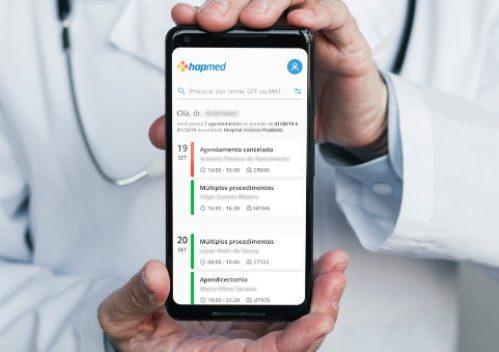 Hapvida desenvolve app que auxilia médicos no acesso a dados dos pacientes