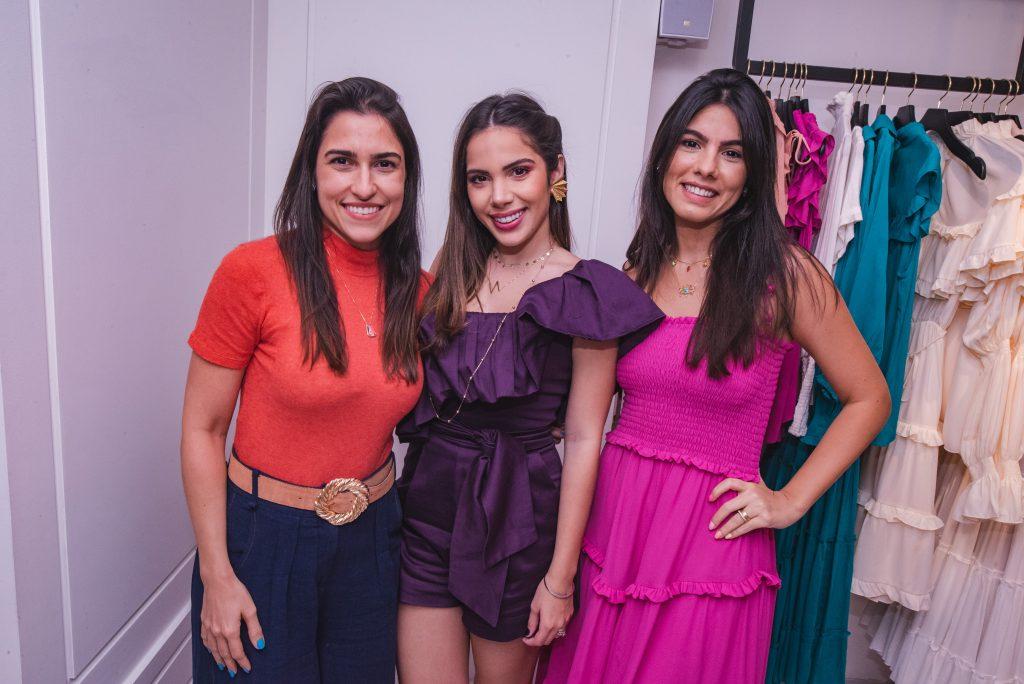 Ingrid Rocha, Nicole Vasconcelos E Natalia Weyne