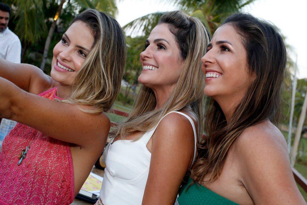 Janaina Mota, Mariana Marinho E Ticiana Mota
