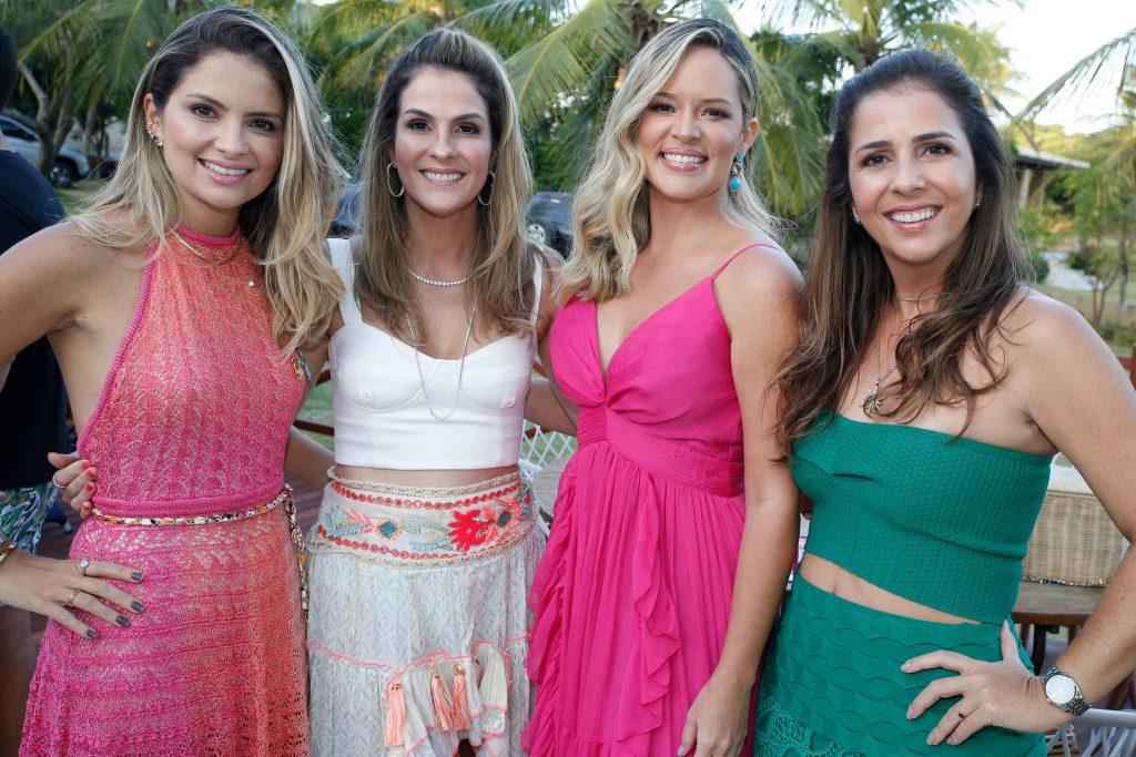 Janaina Mota, Mariana Marinho, Mirella Tome E Ticiana Mota