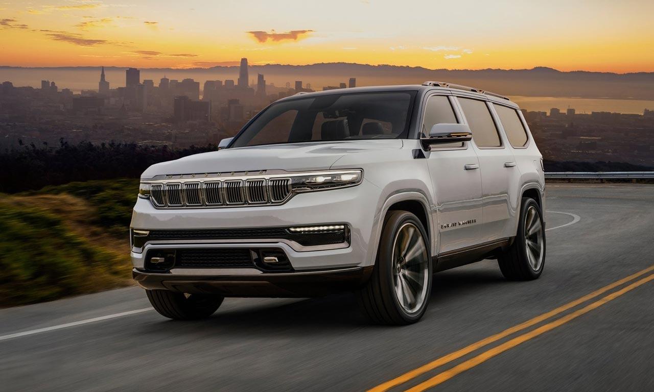 Jeep revela o seu modelo mais luxuoso, o Grand Wagoneer