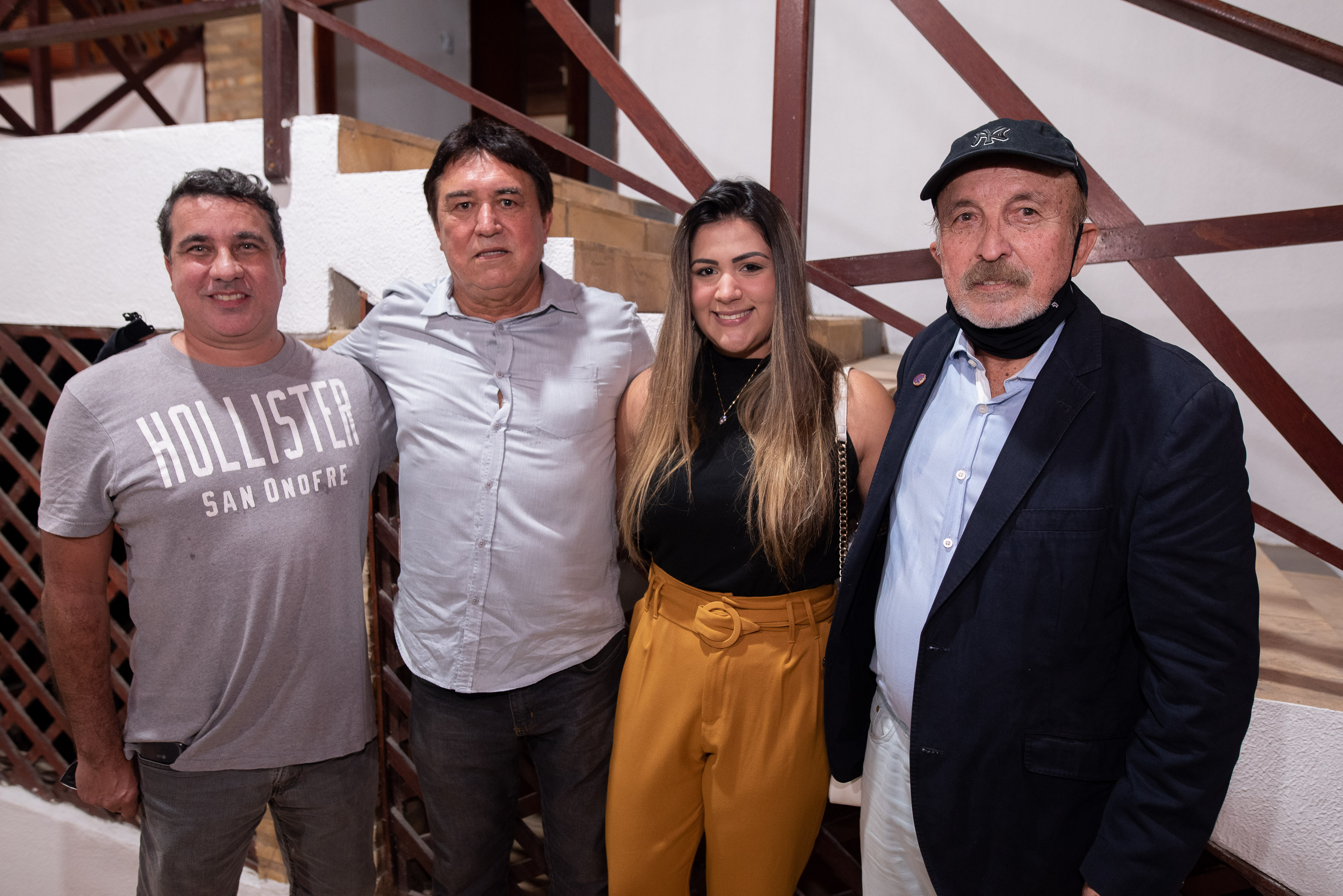 Leandro Guerra, Hugo Pontes, Rebeca Pontes E Paulo Guerra