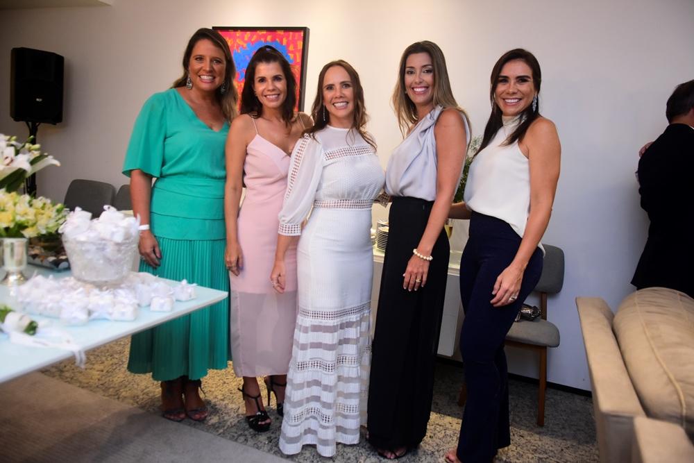 Luciana Colares, Claudia Diniz, Rivia Lima, Adriana Cavalcante E Ane Alcântara (1)