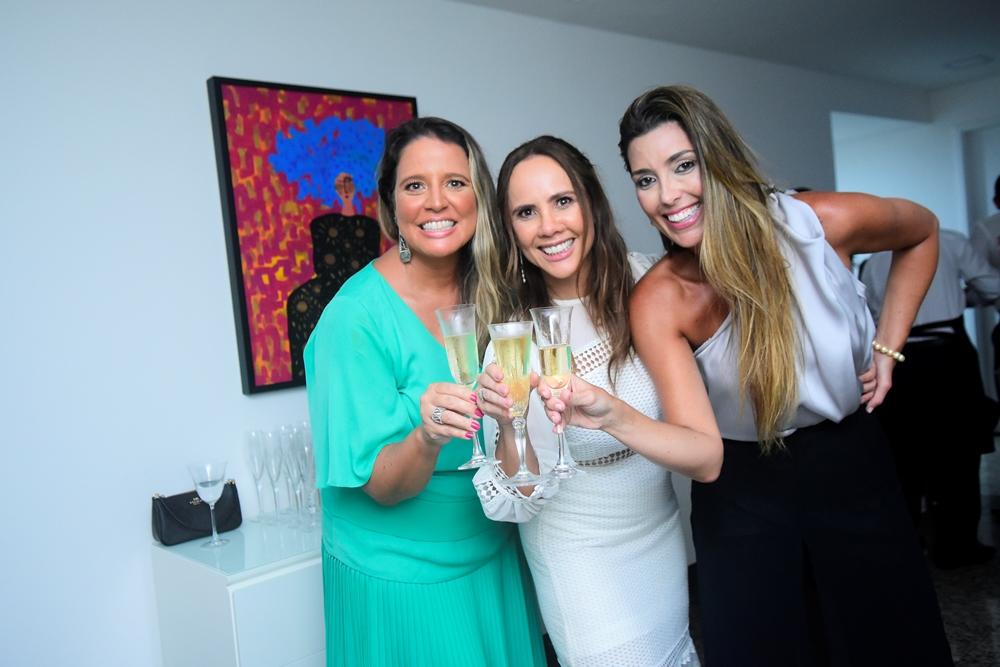 Luciana Colares, Rivia Lima E Adriana Cavalcante