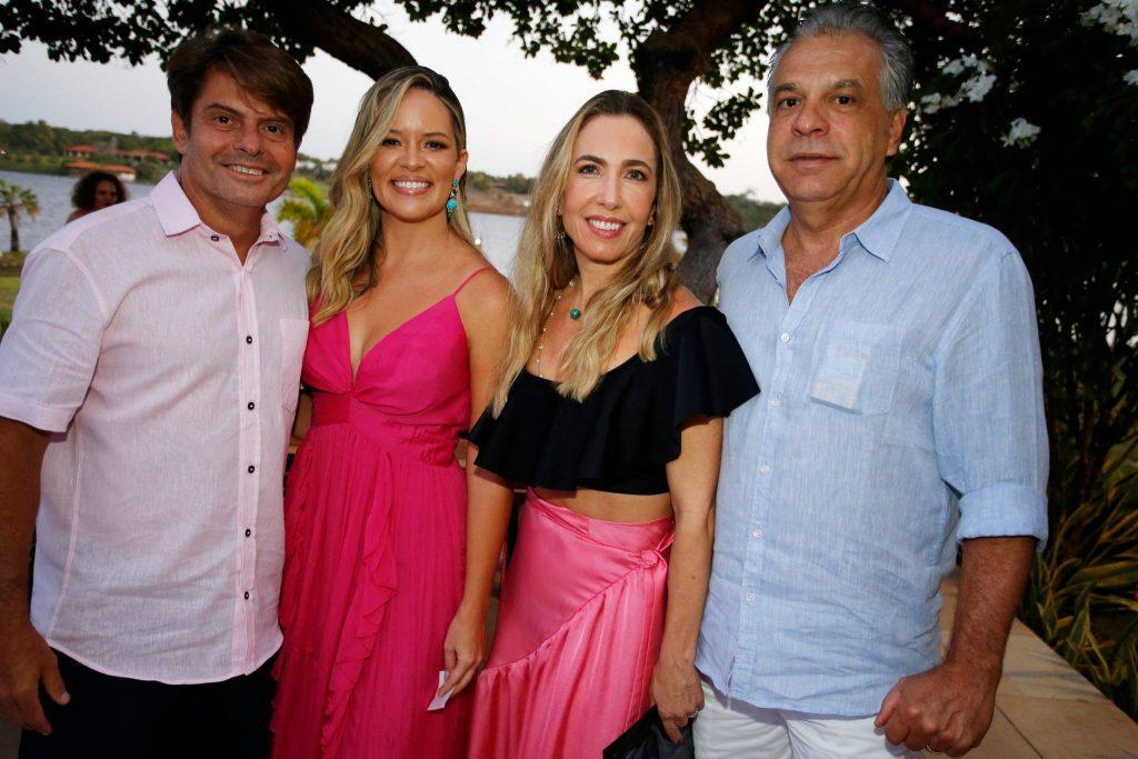 Luiz Carlos E Mirella Tome, Cristina E Marcos Pinto Rola