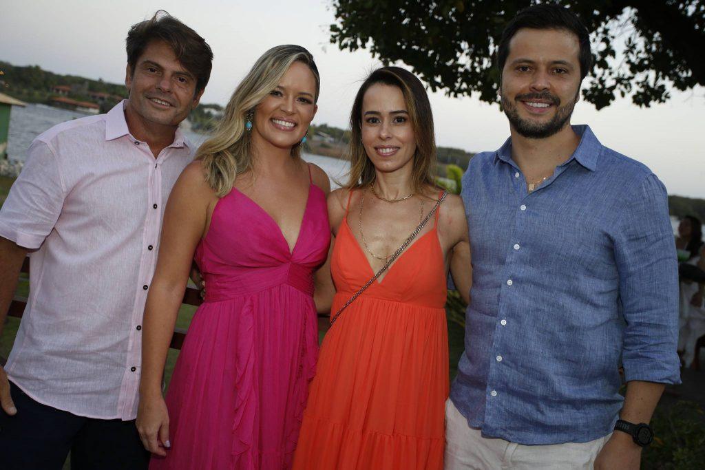 Luiz Carlos E Mirella Tome, Mariana Peixoto E Cassio Pena