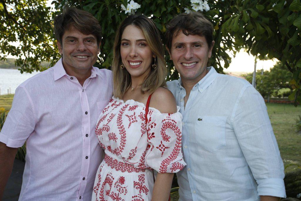 Luiz Carlos Tome, Daniela Ponte E Alex Villa