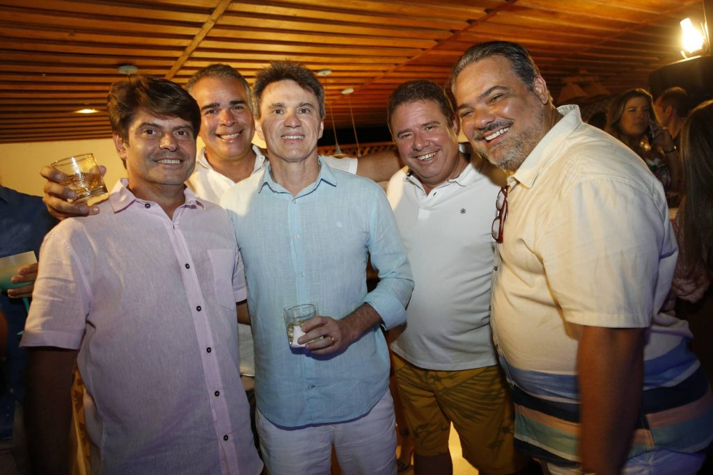 Luiz Carlos Tome, Enio Santos, Adriano Costa Lima, Gustavo Tome E Raul Fontenele