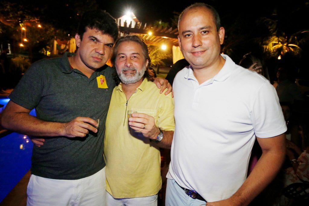 Marcelo Braga, Jackson Girao E Andre Linheiro