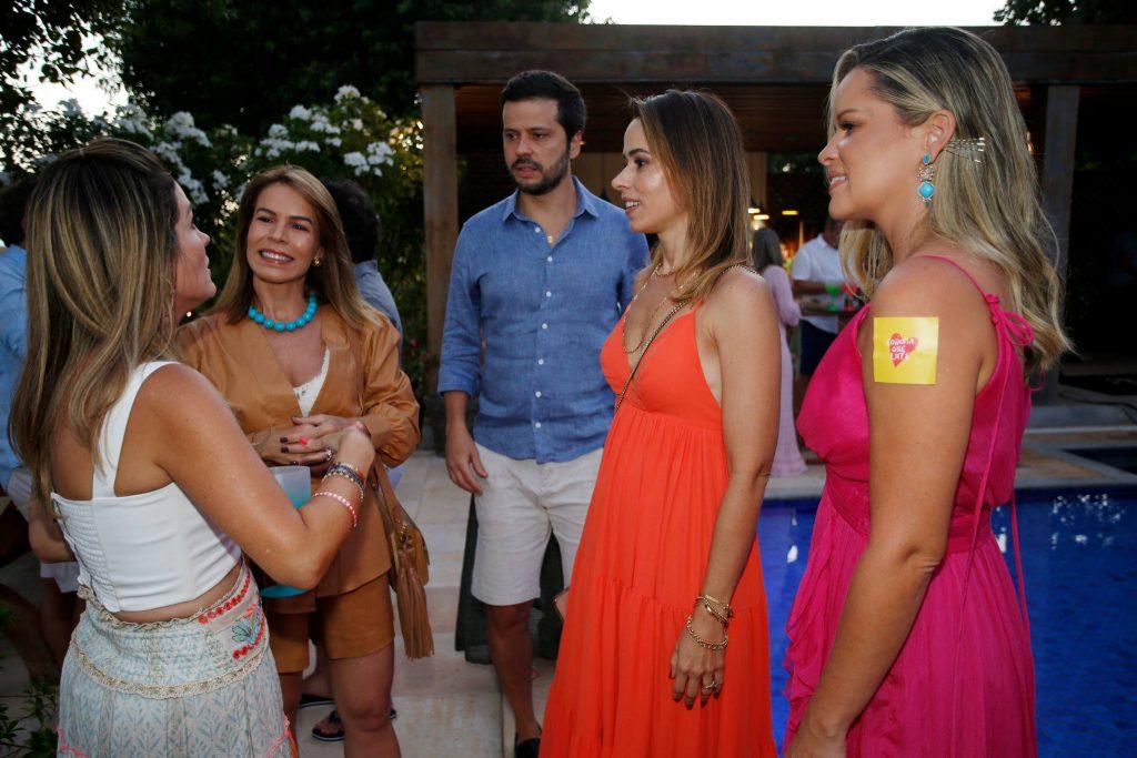 Mariana Marinho, Maira Silva, Cassio Pena, Mariana Peixoto E Mirella Tome