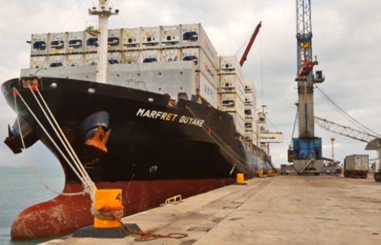 Porto do Fortaleza inicia embarque da safra de frutas 2020-2021 para a Europa