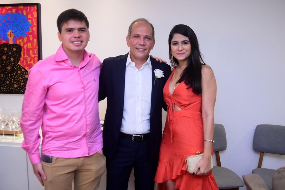 Paulo André, Henrique Augusto E Alana Prado