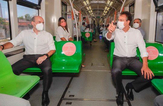 Governo do Ceará e Prefeitura de Fortaleza entregam as últimas estações do VLT, no Mucuripe e Iate Clube