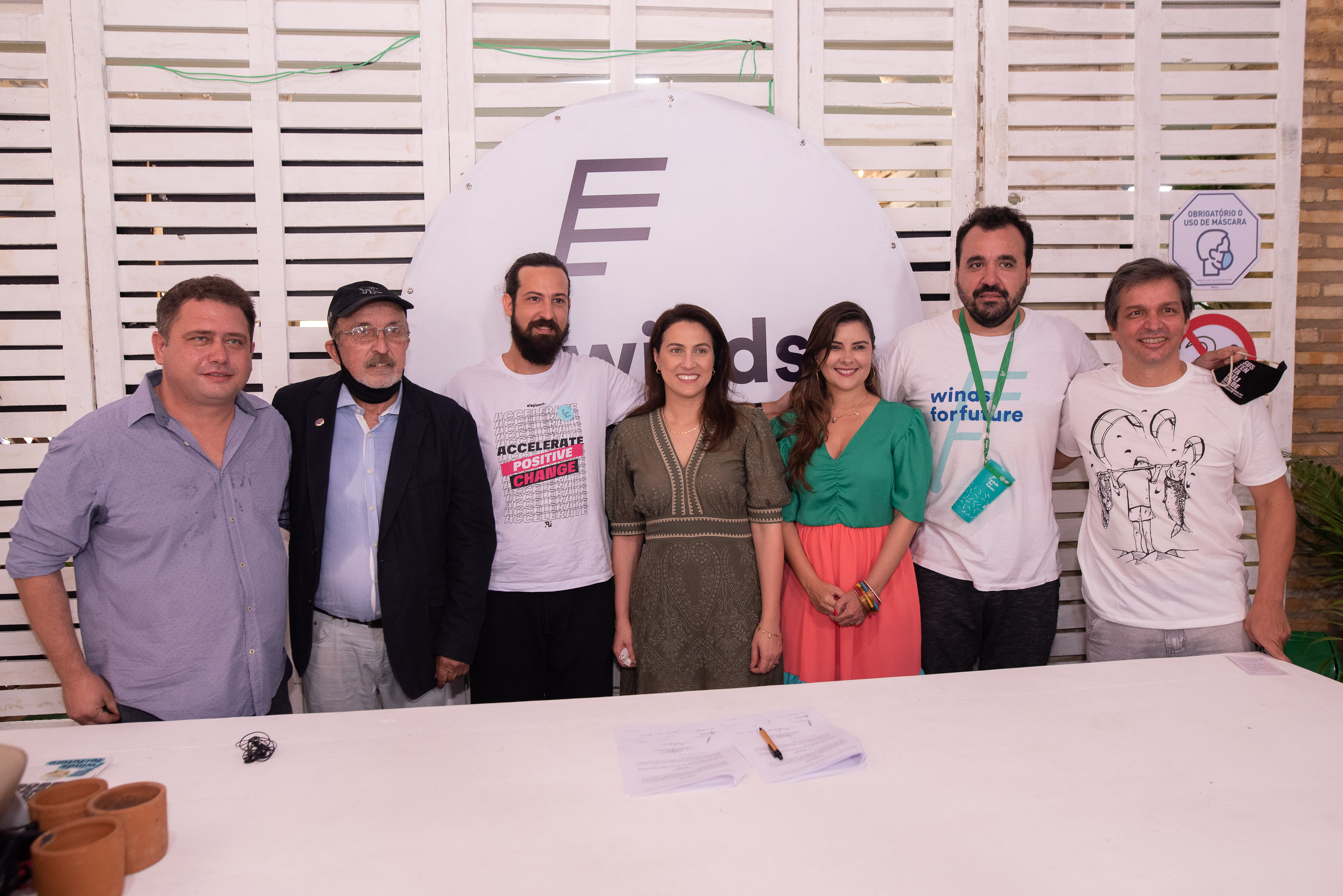 Reinaldo Chalemberge, Paulo Guerra, Andrre Farias, Erika Amorim, Adelina Feitosa, Igor Ary Juacaba E Romulo Soares