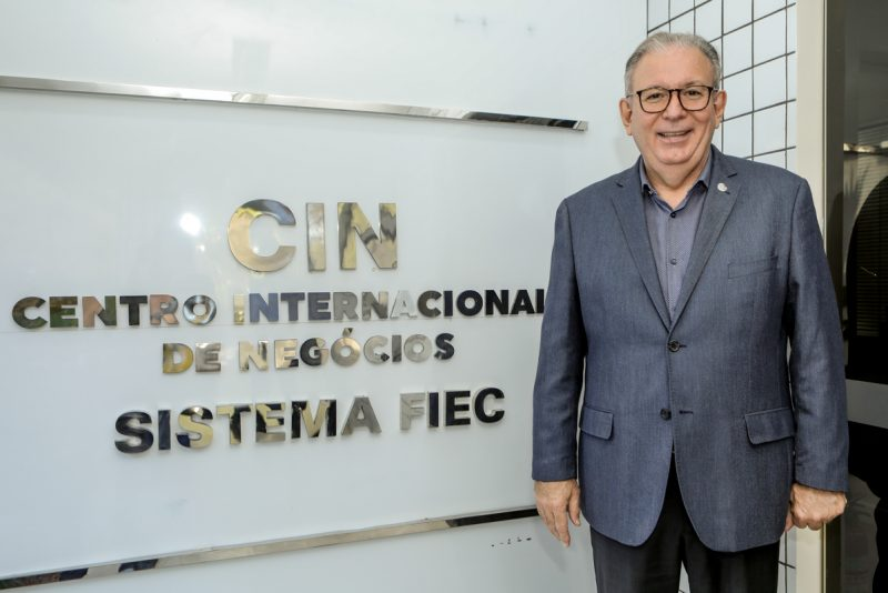 Facilitador de negócios - Ricardo Cavalcante inaugura novo espaço do Centro Internacional de Negócios na FIEC