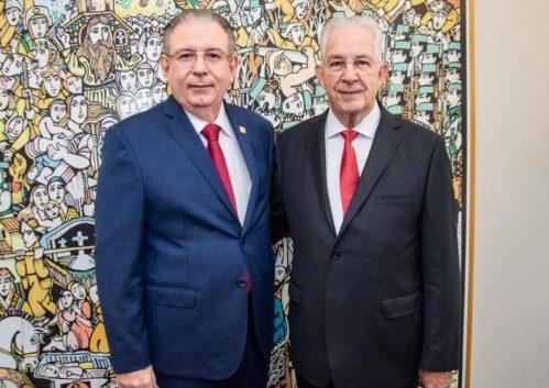 Ricardo Cavalcante inaugura novo prédio do CIN e faz homenagem a Carlos Prado