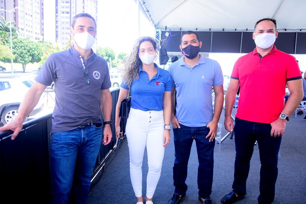 Ronaldo Munhoz, Gabriela Carvalho, Alisson Silva E Glauco Feitosa
