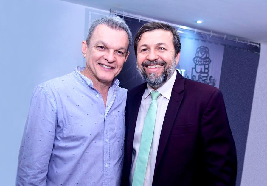 José Sarto e Élcio Batista formam a chapa do PDT para disputar a Prefeitura