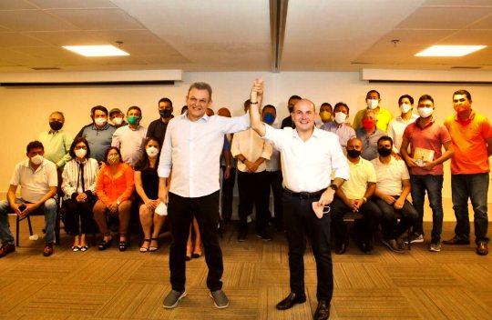 Campanha de Sarto e Élcio recebe apoio da bancada de Roberto Cláudio na CMFor