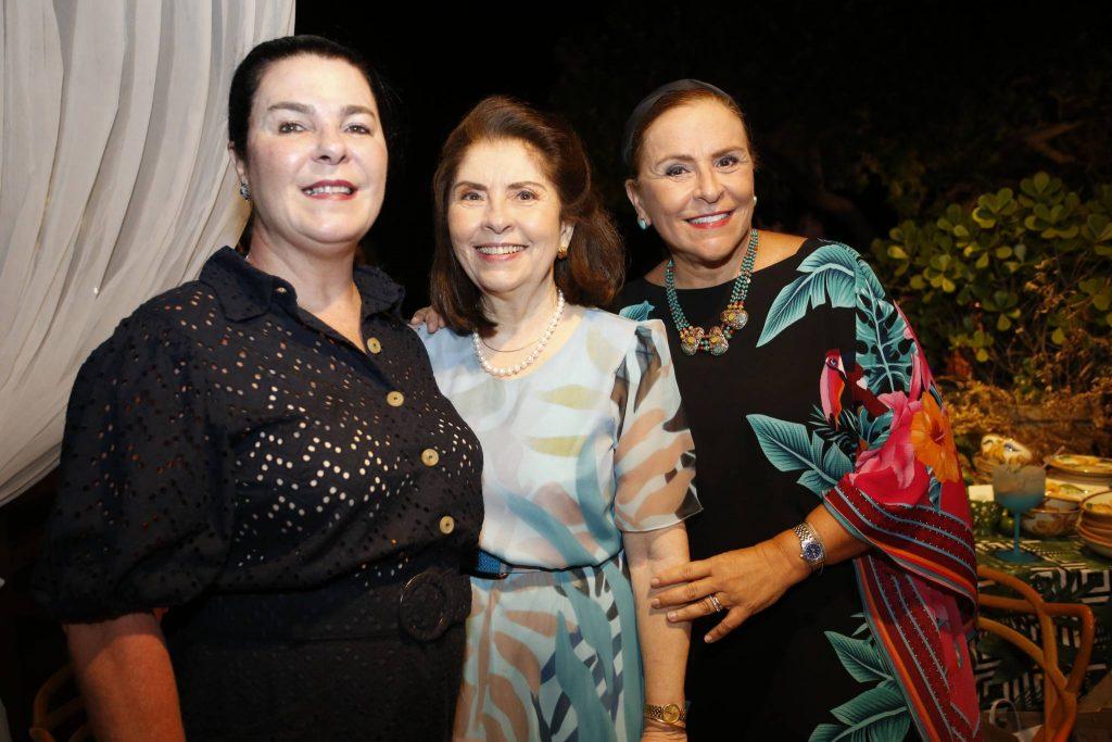 Silvinha Fiuza, Vania Tome E Bitoca Fiuza