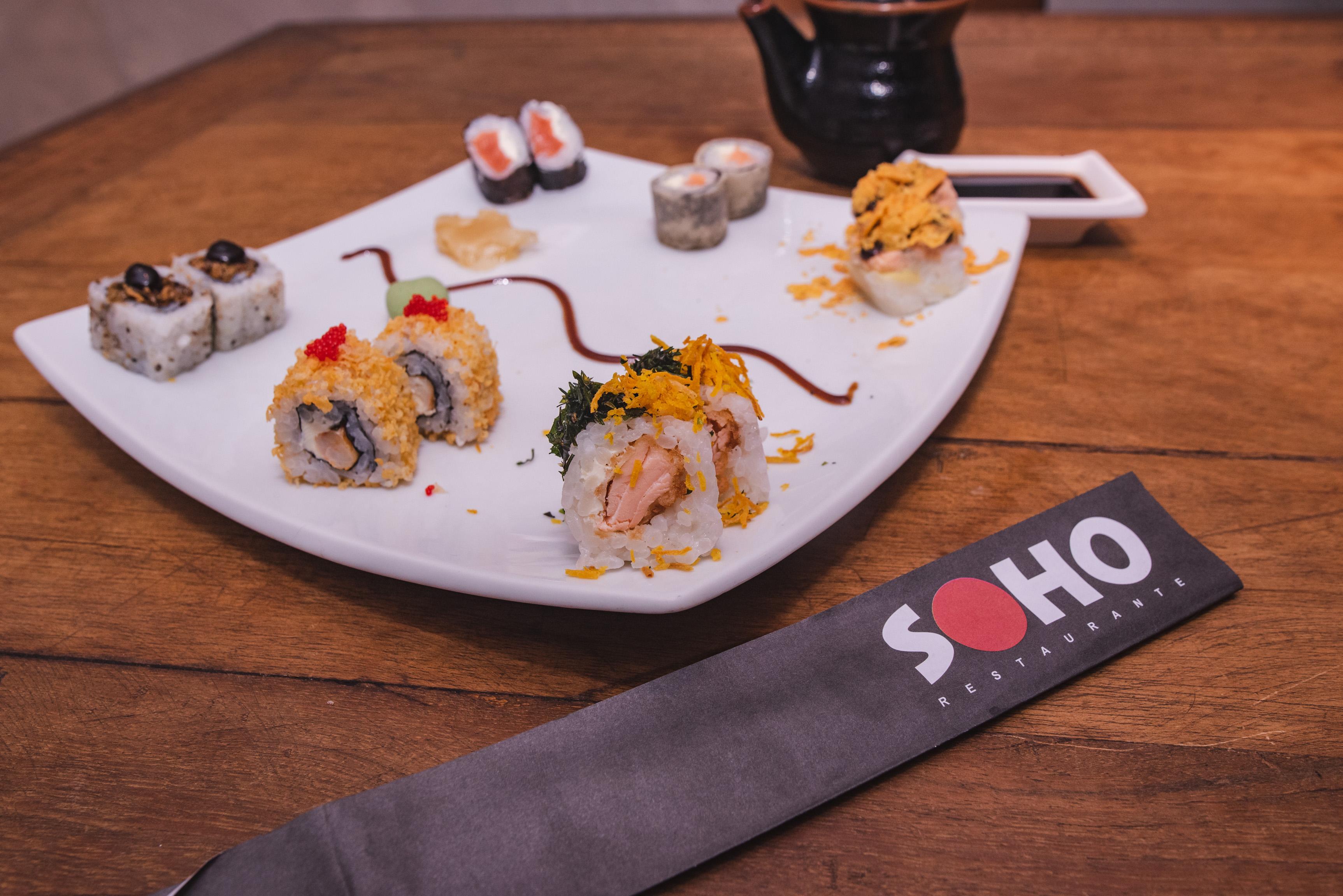 Plataformas de vendas online dos shoppings RioMar realizam promoções de combos de comidas orientais