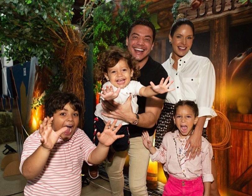 Wesley Safadão e Thyane Dantas festejam o segundo aniversário do pequeno Dom